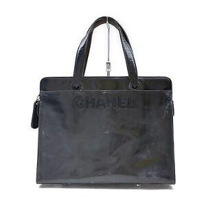 Chanel Tote Bag  Black Enamel 1537873