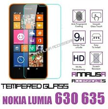 PELLICOLA VETRO TEMPERATO NOKIA LUMIA 630 635 TEMPERED GLASS SCREEN PROTECTOR