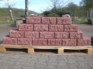 Trockenmauerstein Betonstein Mauerstein Flormauer Hangbefestigung