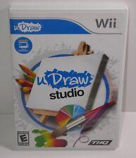 uDraw Studio  (Wii, 2011) COMPLETE