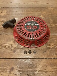 Honda GX160 Pull Start And 3 Bolts More Parts Available For This Machine