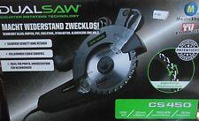 Dual Saw CS 450 Handkreissäge 1050W Doppelblattsäge Sägeblatt