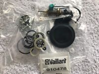 Genuine Vaillant Turbomax VUW 242E & 242/1E Diverter Valve Repair Kit 140352
