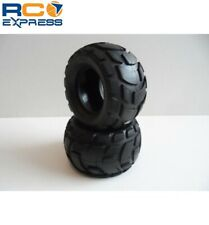 Tamiya RC Tire: 58662 Wide/Block Pattern/Black TAM9803137