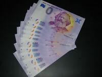 10 x KARL MARX 200 years 1818 - 2018 TRIER ZERO EURO 0 EUROS Schein billet UNC
