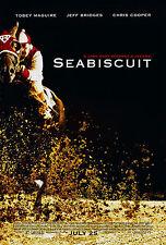 SEABISCUIT (2003) ORIGINAL MINI 11 X 17 MOVIE POSTER  -  ROLLED