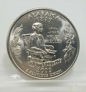 2003 Alabama Quarter | Denver | 25 cent Statehood Quarter Coin