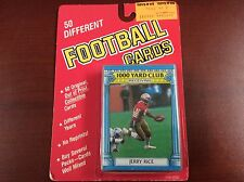 Unopened Football Card Pack - 50 Different Old Football Cards- Jerry Rice