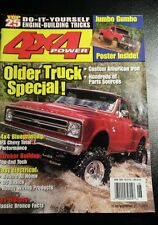 4X4 POWER  JUNE  2000   older truck special stroker buildup easy electrical