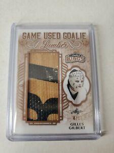 Gilles Gilbert Game-Used Goalie Stick 4/17 2019-20 Leaf Lumber Kings Hockey