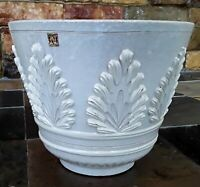 Rare Vintage Napcoware Italy Import Large Planter Napco Beautiful White Ceramic