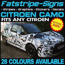 CITROEN C4 GRAPHICS CAR CAMO KIT VINYL STICKERS DECALS BONNET ROOF 1.4 1.6 2.0