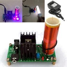 15W DIY Mini Tesla Coil Plasma Speaker Set Electronic Field Music Project Kit DE