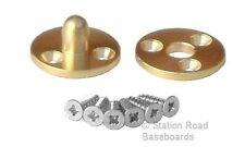 25mm Brass Pattern Makers Dowel Model Railway Train Set Baseboard Alignment Join