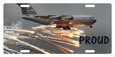 USAF Custom License Plate U.S. AIR FORCE Emblem Proud Version