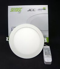 JCC Skydisc Slim Profile Downlight LED IP65 21W 4000k 225mm Dimmable JC72383