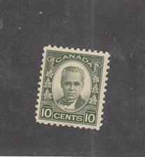 CANADA (MK1736) # 190 VF-MH 10cts 1931 GEORGE-ETIENNE CARTIER / DARK GRN  CV $20