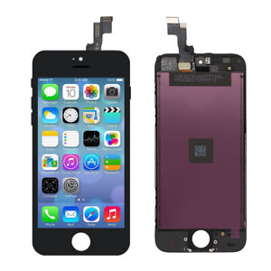 For iPhone 5s/5SE Black LCD Touch Screen Display Digitizer Assembly Replacement