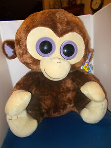 """COCONUT ***TY BEANIE BOOS BOO*** LARGE APPROX 16""""  PRE OWNED"""
