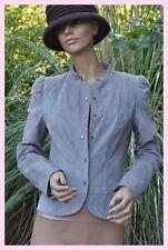 veste beige cuir CAMAIEU  taille 36 ref 0817113
