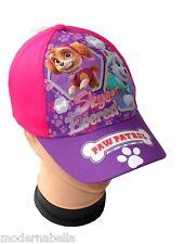 fucsia Paw Patrol Skye cappello con visiera Estivo Bambina Baseball  tg 54 coton