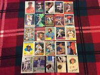 HALL OF FAME Baseball Card Lot 1975-2018 KEN GRIFFEY JR. JOHNNY BENCH CLEMENTE +