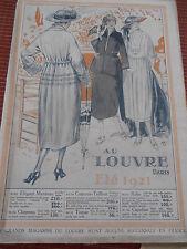 CATALOGUE ANCIEN AU LOUVRE 1921  ( ref 44 )