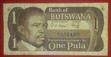 Botswana, 1 Pula, ND (1983), P-6 S. Mmusi and C. Kilonoyogo