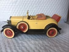 Vintage Hubley 1930 Ford Model A Roadster, complete....built car