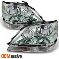 Fits 1999-2003 Lexus RX300 RX-300 Headlights Left/Right Halogen Type Headlamps