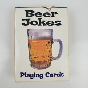 Beer Jokes Adult Playing Cards w/ Jokes On Each Card Big Fun Co