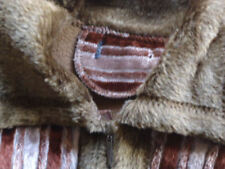 Classic Neckline Winter Striped Coats & Jackets for Women