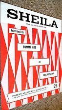 TOMMY ROE: SHEILA (SHEET MUSIC)