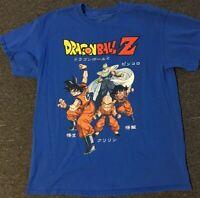 Dragon Ball Z Shirt L Goku Vegeta Krillin Piccolo Super Saiyan Anime Naruto