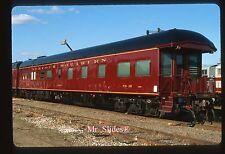 Original Slide NS Norfolk Southern Business Car 'Ohio' 20 At Spencer NC