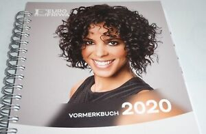 Salon Planner Appointment Book 2020 Cosmetics Or Hair Salon up To 5 Employees