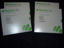 1 Box NEW Mepilex Ag 4x4 (287100) 1 Unopened New  Box Of 5