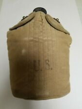 US GI WWII DATED CANTEEN WITH COVER AND CUP.