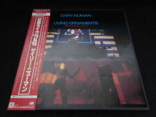 Gary Numan Living Ornaments '79 & '80 Japan Double Vinyl LP in Box w OBI Synth