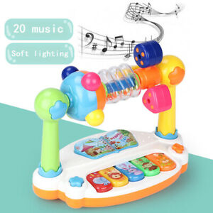 Musical Learning Rotatable Toys 6-12 Month up Baby Early Education Activity CR1