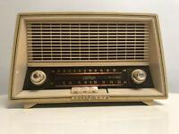Fonovox Loewe Opta Tube Radio 05708W Made in Germany Atomic Mid Century