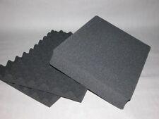 3-teiliger Raster- Schaumstoff Polster Einsatz perforiert teilbar 44x 32x 6 cm