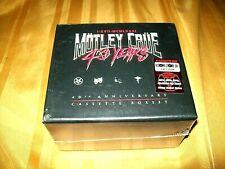 SEALED MOTLEY CRUE 40th Anniversary Cassette Box Set RSD Dr Feelgood LP NEW!