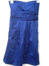 Janice Royal Blue Strapless Dress size S