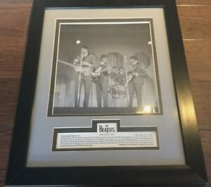 The Beatles Anthology Photo Release Plate Number 4 of 12