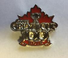 New 100th Grey Cup 2012 Toronto Collectors Lapel Hat Jacket Pin CC
