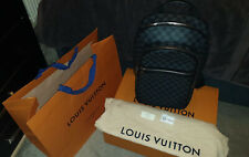 Michael Louis Vuitton Damier Graphite lona mochila Rrp £ 1770