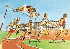 1029) ROMA 1960, XVII OLIMPIADE, SALTO IN ALTO E CORSA AD OSTACOLI.