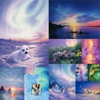 5D DIY Full Drill Diamond Painting Animal Magic Cross Stitch Embroidery Arts Kit