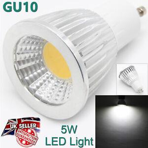HIGH QUALITY Led Spotlight Bulb GU10 2 Pins 5W Cool White Light Color UK Lamp